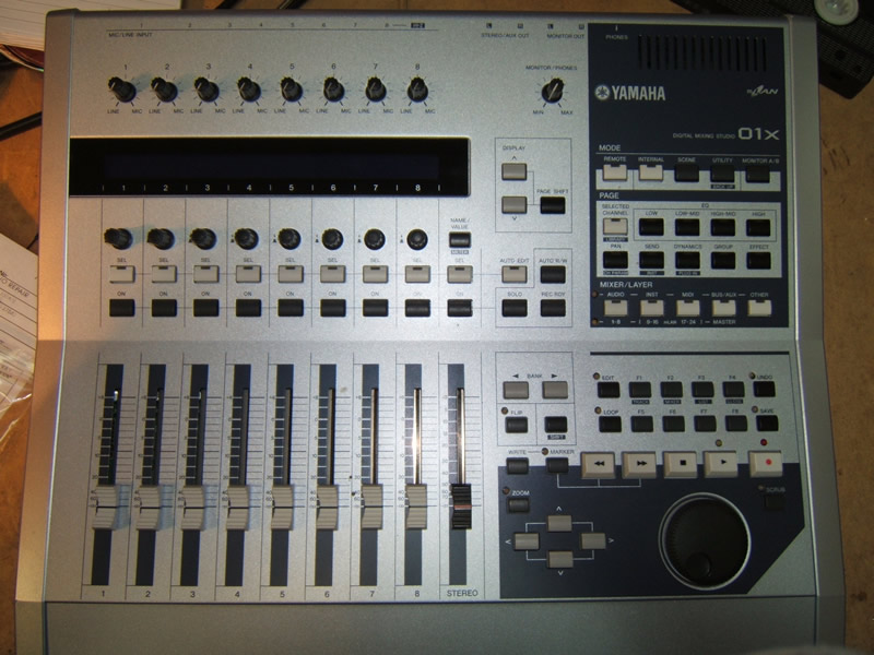Damaged yamaha mixer and bose speakers repaired fixmyamp for Yamaha mixer replacement parts