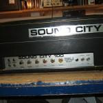 Sound City 100 Valve Amplifier Repair